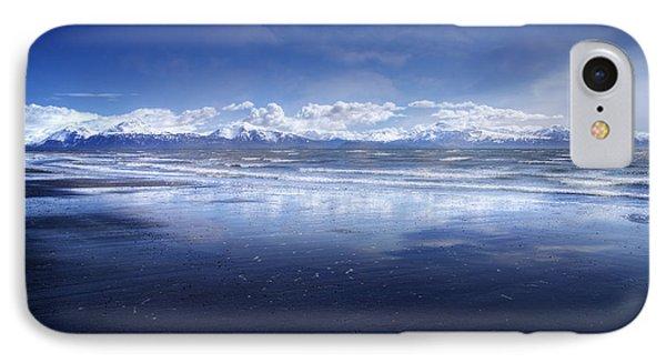 Empty Beach Phone Case by Michele Cornelius