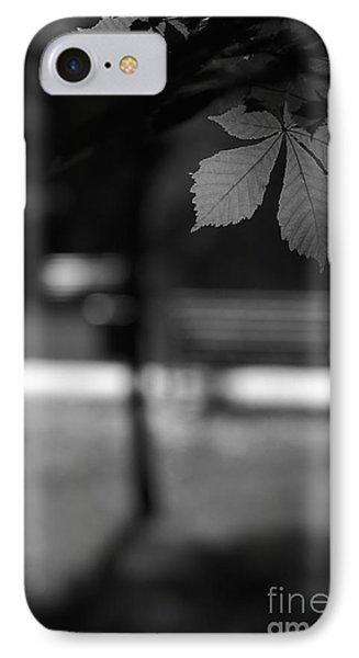 Empty Bench IPhone Case by Dariusz Gudowicz
