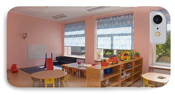 Empty Estonian Elementary Grade School Phone Case by Jaak Nilson