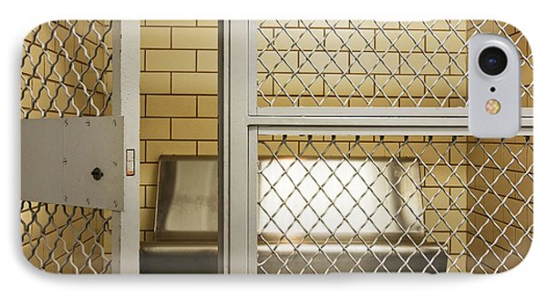 Empty Jail Holding Cell Phone Case by Jeremy Woodhouse