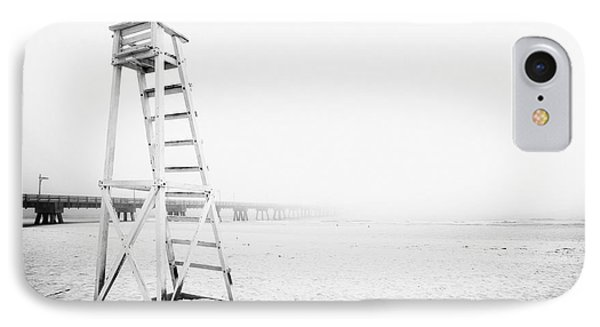 Empty Life Guard Tower 2 Phone Case by Skip Nall