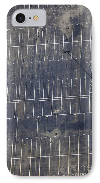 Empty Parking Lot Phone Case by Don Mason