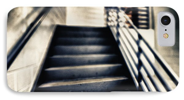 Empty Stairwell Phone Case by Skip Nall