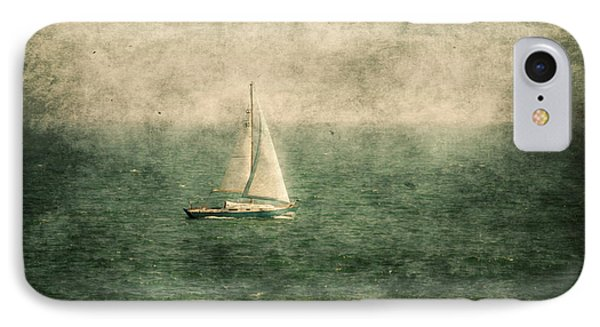 Empty Yacht  IPhone Case by Svetlana Sewell