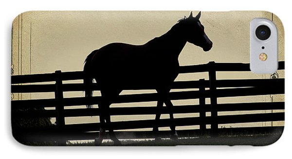 End Of The Day In Georgia - Horse Lovers Must See - Artist Cris Hayes IPhone Case