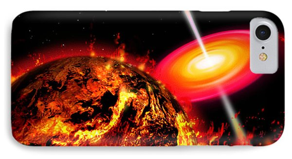 End Of The World The Earth Destroyed IPhone Case