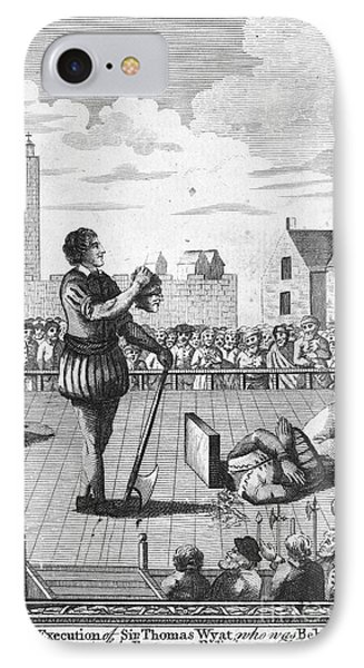 England: Beheading, 1554 Phone Case by Granger