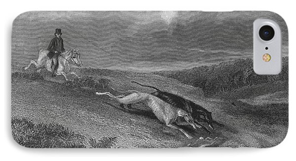 England: Coursing, 1833 Phone Case by Granger