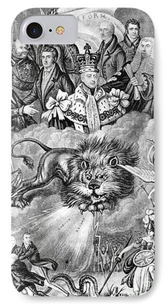 England: Reform, 1830 Phone Case by Granger