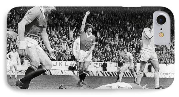 England: Soccer Game, 1977 Phone Case by Granger
