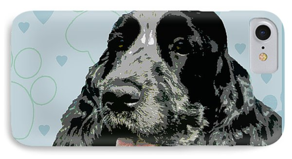 English Cocker Spaniel Phone Case by One Rude Dawg Orcutt
