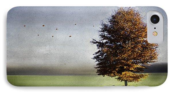 Enjoying The Autumn Sun Phone Case by Hannes Cmarits