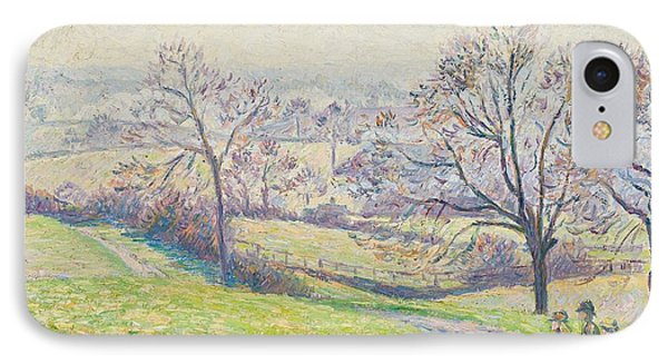 Epping Landscape Phone Case by Camille Pissarro