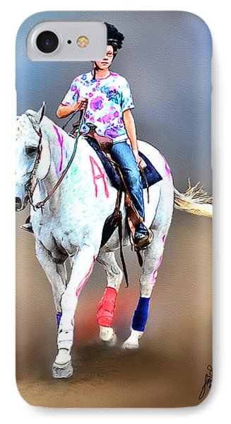 Equestrian Competition II Phone Case by Tom Schmidt