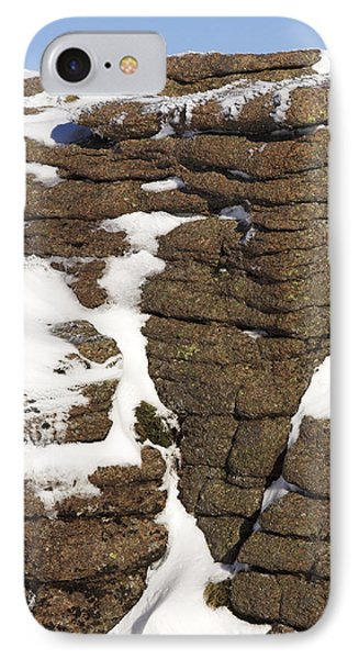 Eroded Granite Phone Case by Duncan Shaw