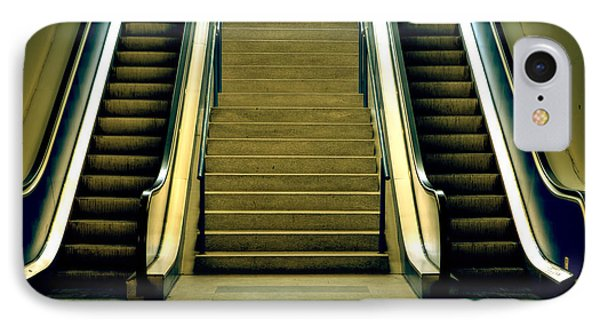 Escalators And Stairs Phone Case by Joana Kruse