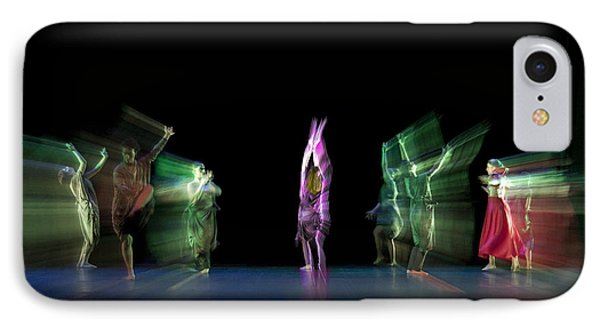 IPhone Case featuring the photograph Escaping Dancers by Raffaella Lunelli