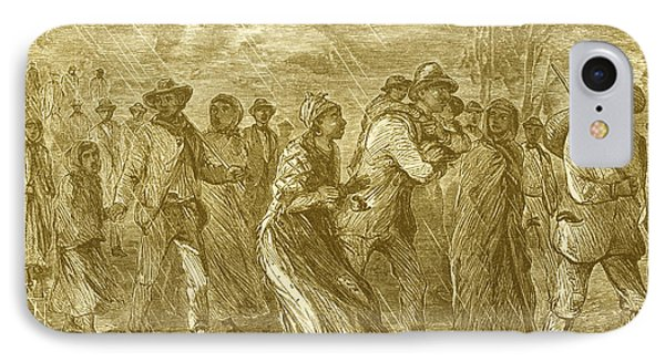 Escaping To Underground Railroad Phone Case by Photo Researchers