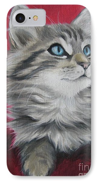 IPhone Case featuring the painting Estrella by Jindra Noewi