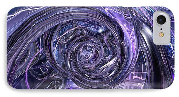 Eternal Depth Of Abstract Fx  Phone Case by G Adam Orosco