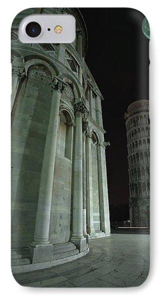 Ethereal Moonlight Scene Of Duomo Santa Phone Case by Carson Ganci