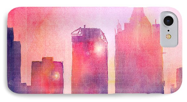 Ethereal Skyline Phone Case by Arline Wagner