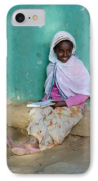 Ethiopia-south School Girl IPhone Case