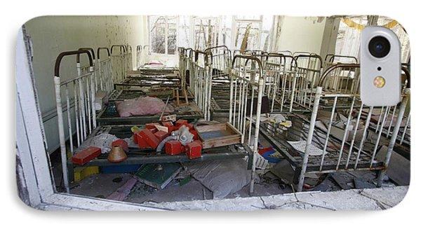 Evacuated Kindergarten Near Chernobyl Phone Case by Ria Novosti