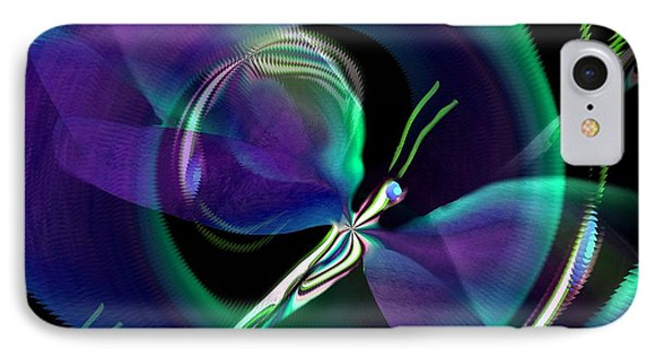 Eve Of The Dragonfly Phone Case by Maria Urso