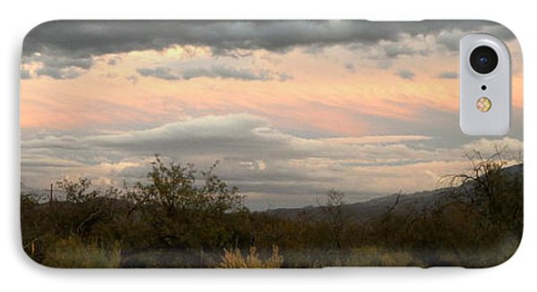 Evening In Tucson IPhone Case by Kume Bryant