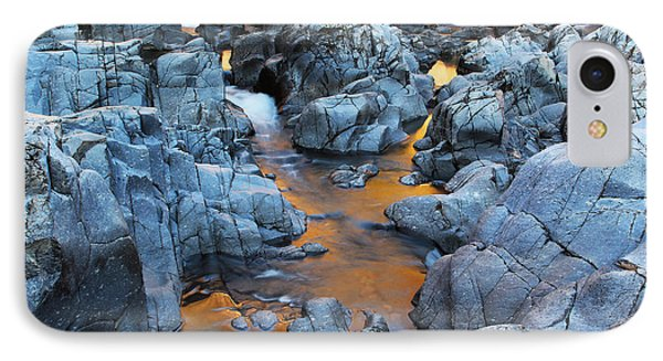 Evening Light On The Black River At Johnsons Shut Ins State Park IIi Phone Case by Greg Matchick