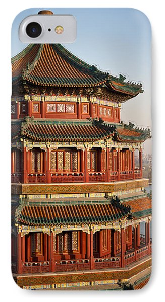 Evening Temple Of The Fragrant Buddha IPhone Case by Mike Reid