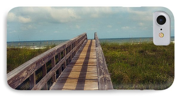 Evening Walk To The Beach Phone Case by Toni Hopper