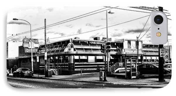 Everybody Goes To Melrose - The Melrose Diner - Philadelphia Phone Case by Bill Cannon