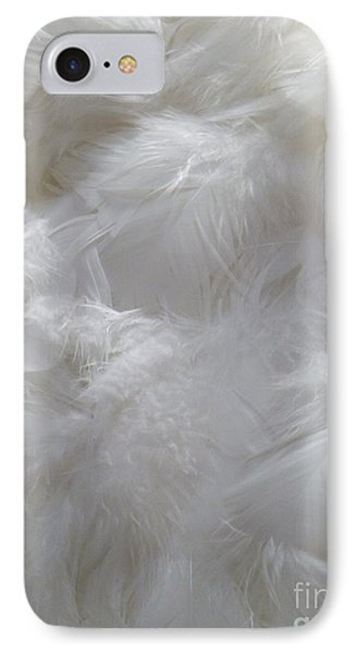 IPhone Case featuring the painting Evidence Of Angels by Newel Hunter