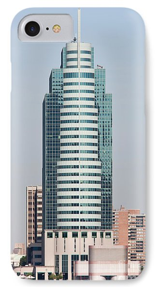 Exchange Place Centre I IPhone Case by Clarence Holmes