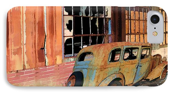 IPhone Case featuring the photograph Executive Parking by Larry Bishop