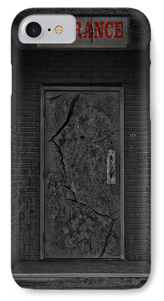 Exit Phone Case by Jerry Cordeiro