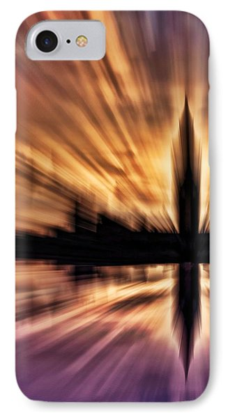 Exploding Powers Phone Case by Sharon Lisa Clarke