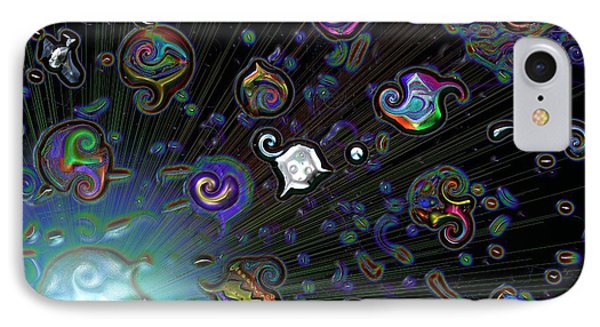Exploding Star IPhone Case by Alec Drake