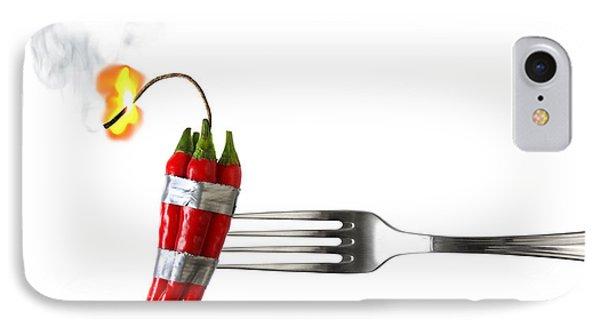 Explosive Food Phone Case by Carlos Caetano