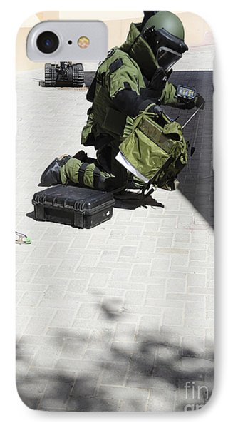 Explosive Ordnance Disposal Technician Phone Case by Stocktrek Images