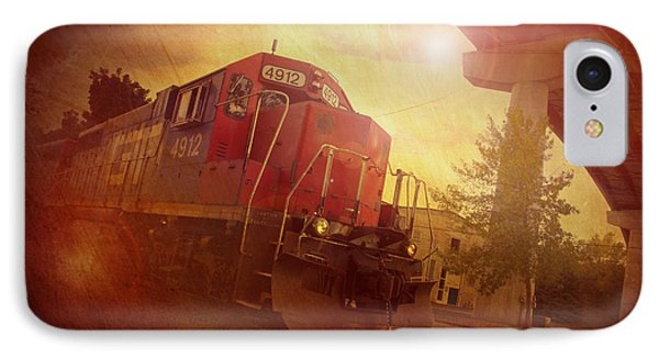 Express Train IPhone Case by Joel Witmeyer