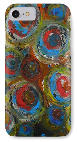 IPhone Case featuring the painting Eyeball by Everette McMahan jr