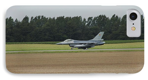 F-16 Of The Belgian Air Force Ready Phone Case by Luc De Jaeger