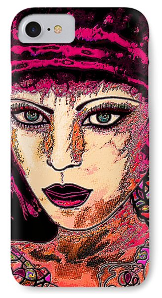 Face 13 Phone Case by Natalie Holland