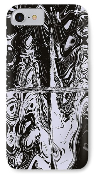 Faces Of Tormented Souls Phone Case by DigiArt Diaries by Vicky B Fuller