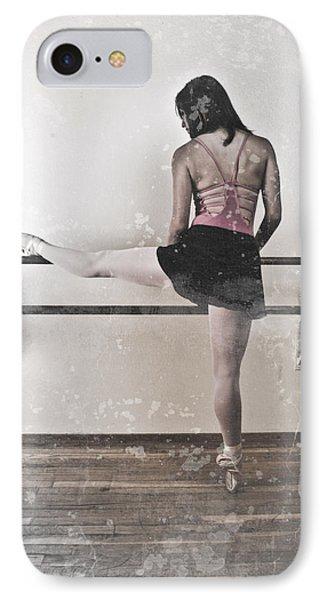 Faded Ballerina Phone Case by Scott Sawyer