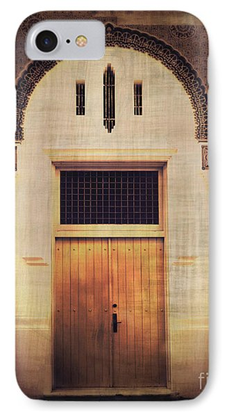 Faded Doorway Phone Case by Perry Webster