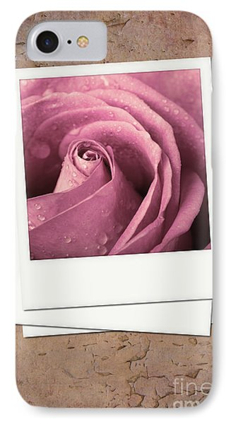 Faded Rose Photo Phone Case by Jane Rix